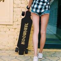 Koowheel a amélioré la planche à roulettes électrique 4 roues Longboard électrique double moteur puissant Kick e-scooter Skateboard pour adulte