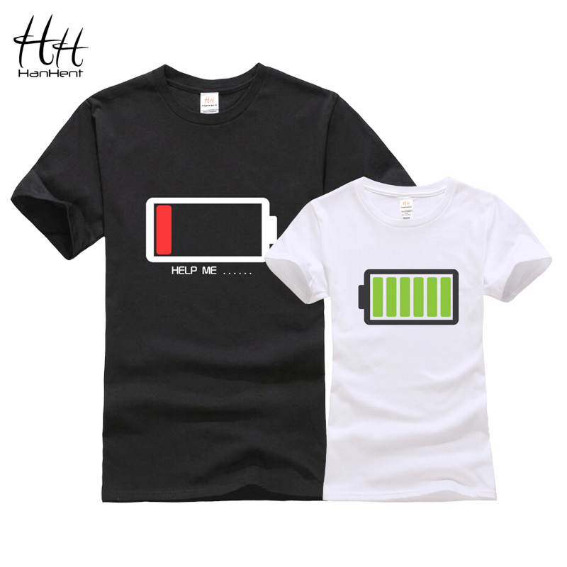 hanhent battery design couples t shirt 3d sisters tshirts