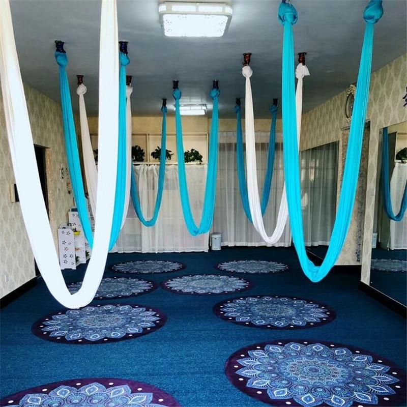 Yoga Hammock Swing Latest Multifunction Anti gravity Yoga belts for yoga training Yoga for sporting 7