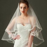 YNQNFS WV1 Chic Double Layers Handmade Short Wedding Veil Birdcage Bridal Veils Hair Decoration Wedding Accessories