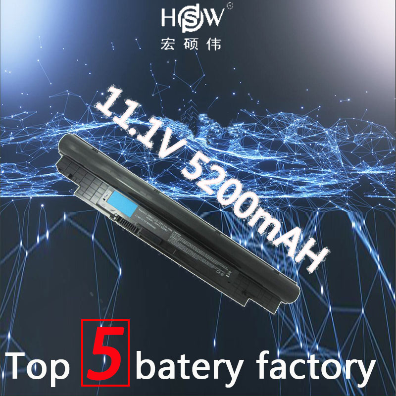 HSW 11.1V 5200MAH 6 cell replace Laptop Battery For Dell Inspiron 14Z 14z-N411z N411z Vostro V131 V131D V131R bateria akku 58wh original laptop battery for xps 14z l412x 14z l412z v79y0 ymyf6 0ymyf6