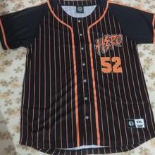 Дизайн хиджазер уличные майки герой мужские бейсбольные майки хип-хоп бейсбольная полосатая рубашка Топы черный и белый цвет