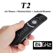 T2 Fly Air Mouse 2.4GHz & Wireless Mini Keyboard & 3D Remote Sensing Control for X92 X96 T95 Android TV Box Media Player Gaming