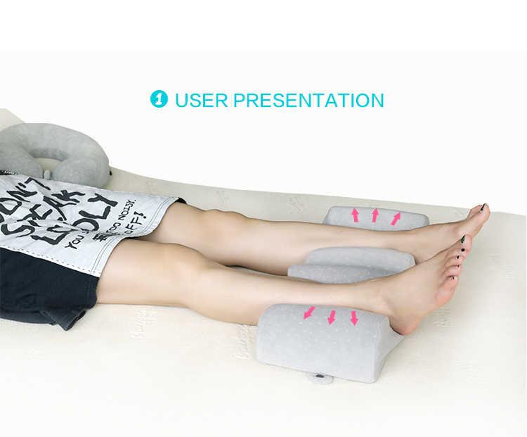 Новая подушка с эффектом памяти для ног для беременных женщин, подушка для путешествий, подушка для поддержки ног, спальные подушки Almohada