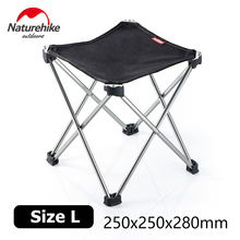 Naturehike Lightweight Outdoor Compact Portable Aluminium Folding Fishing Stool Foldable Hiking Fold Up Camping Seat