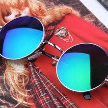 New Brand Designer Classic Polarized Round Sunglasses Men Small Vintage Retro Jo