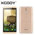 """Xgody 6 """"Quad Core ROM 8 ГБ Y14 Смартфон Android 5.1 2 SIM 3 Г Открытый Двойной Карточки Двойной Резервный Мобильный Телефон"""