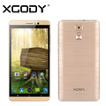 "Xgody 6"" Quad Core ROM 8GB Y14 Smartphone Android 5.1 2 SIM 3G Unlocked Dual Cards Dual Standby Mobile Phone"