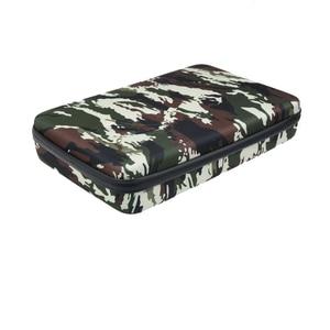 Image 3 - Portable Storage Bag Case Protective EVA Box For GoPro Hero 6 5 4 3+ Xiaomi Yi Sjcam Action Camera Accessories Camouflage Bag