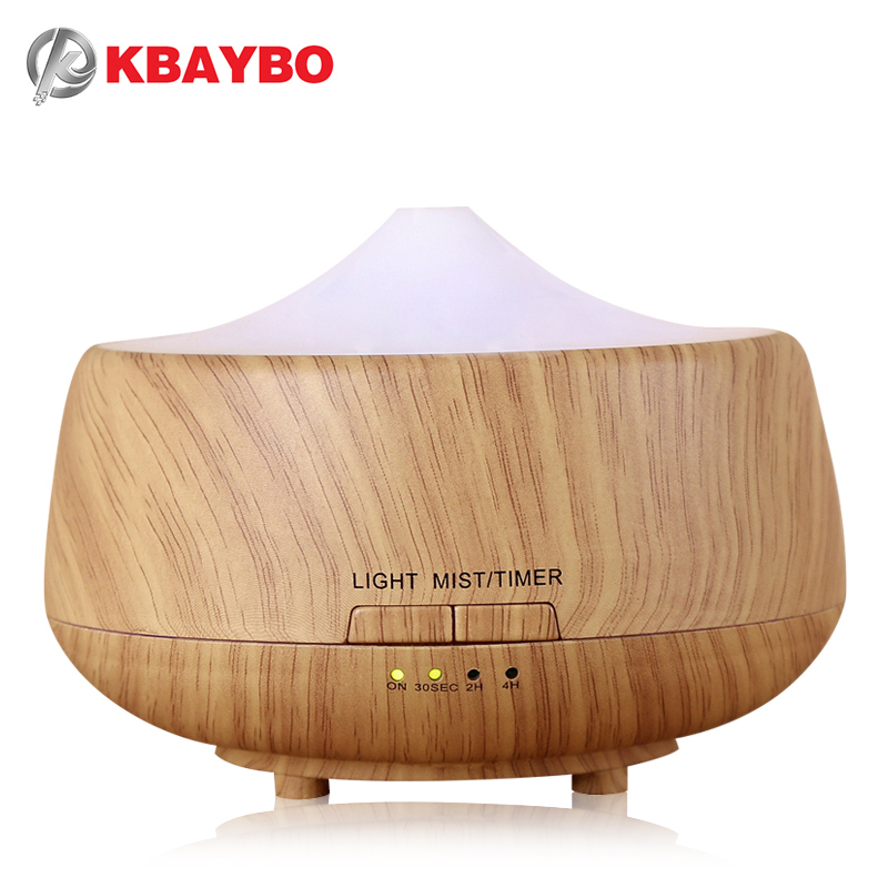 250ml Aroma Aromatherapy Humidifier 7 Color LED Wood Grain Essential Oil Diffuser Ultrasonic Air Purifier Mist Maker aromatherapy aroma mix