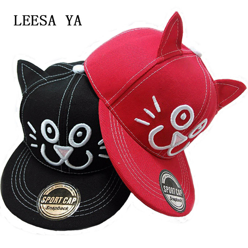Alice In Wonderland Cheshire Cat Cartoon Snapback Hats BUGS BUNNY SYLVESTER Cap For Boy Girl Snap Back Baseball Cap Brand Hats in wonderland lp cd