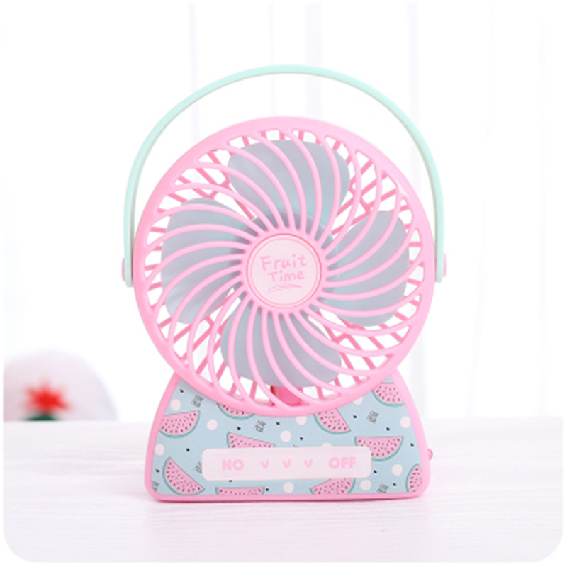 Air Fan Gift Rechargeable Student Office Desktop Student Portable Fan 18styles USB Small Electric Table Mini Rotary
