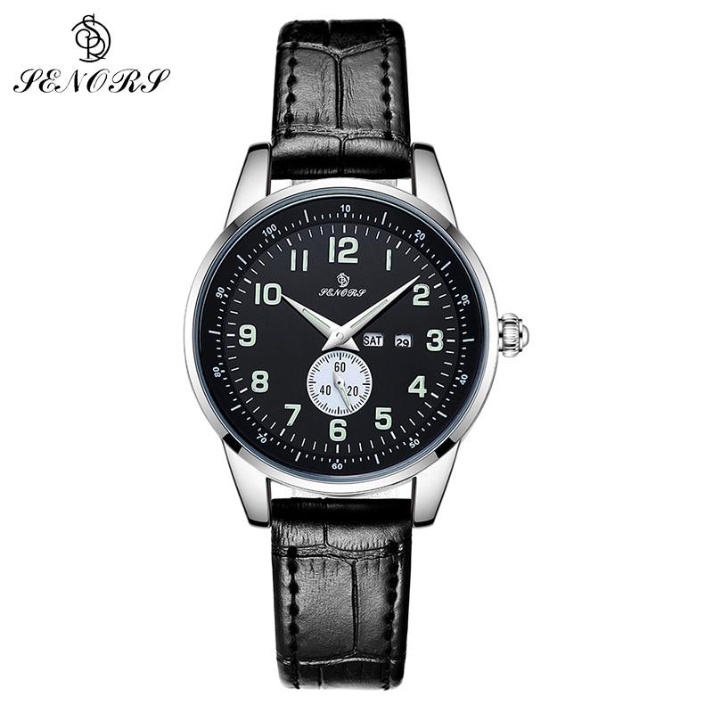 SENORS Dameshorloges Topmerk Luxe Mode Luxe Jurk Lichtgevend Horloge - Dameshorloges