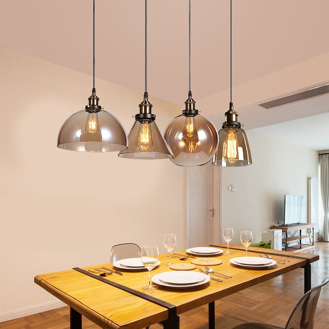 American Retro Gl Chandelier Metal Decorative Hanging Lamps Home Commercial Restaurant Cafe Bar Chandeliers