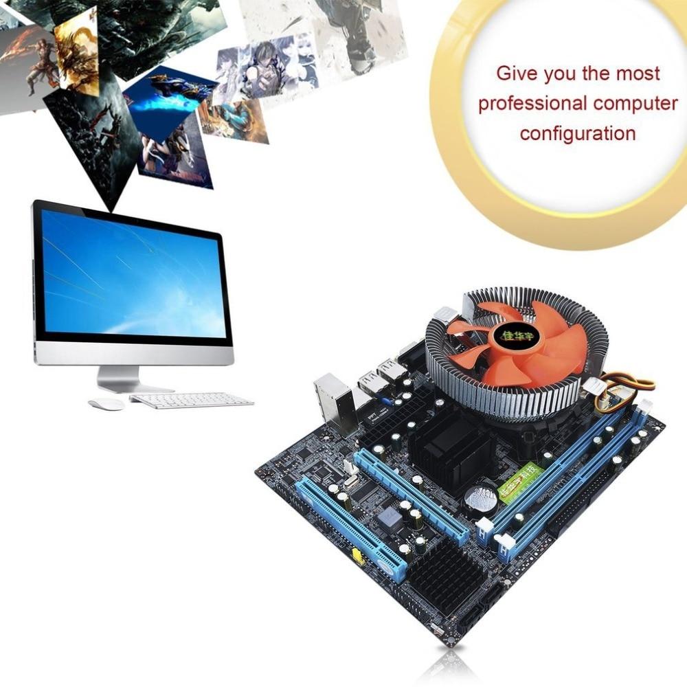 G31 Desktop PC Main Board LGA 775 Dual-core E5700 Combo Set 3.0G CPU + 2G DDR2 Memory + Mute Fan Computer Motherboard g31 desktop pc main board lga 775 dual core e5700 combo set 3 0g cpu 2g ddr2 memory mute fan computer motherboard