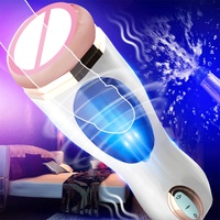 Vagina Real Pussy Sex Toys For Man Portable Sex Toys Male Masturbator Cup Vibrator Oral Vaginal Vibrator Sex Masturbation Cup!