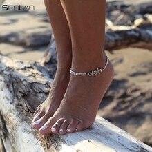 Feet Jewelry Simple Pull Beads Bobo Anklet Bracelet For Women