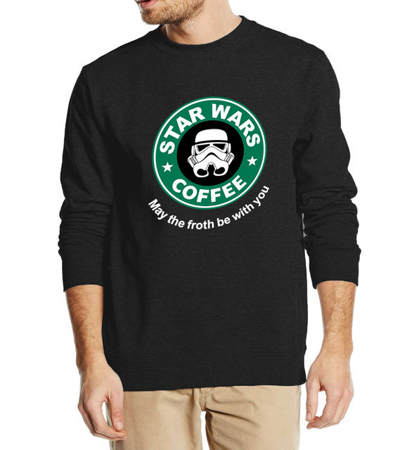 Star Wars Coffee Funny Sweatshirt (6  Colors)