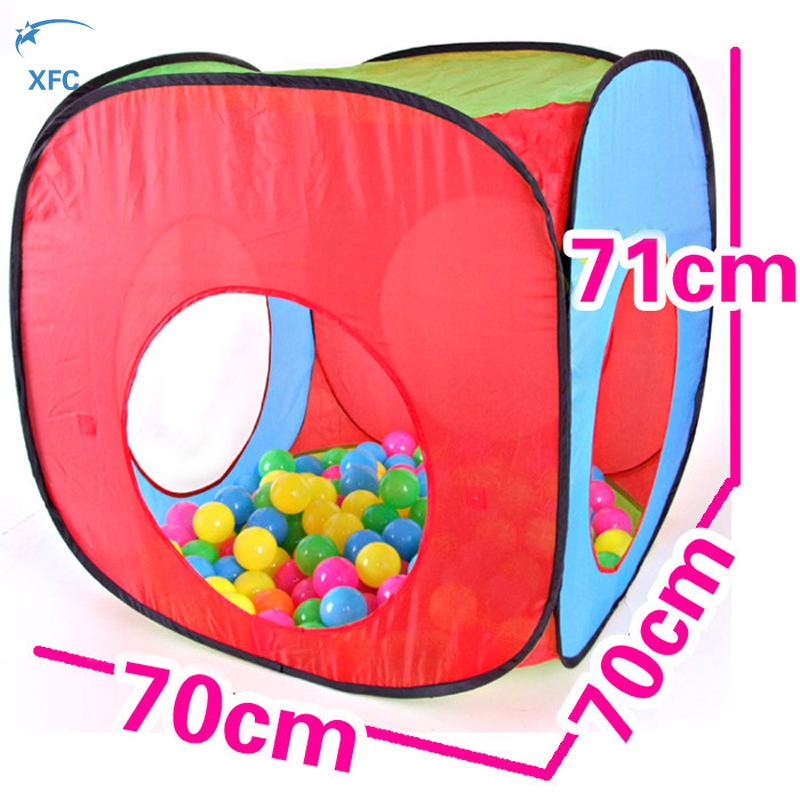 XFC Portable Children Kids Pop Up Adventure Play Tent House Tunnel Set Indoor Outdoor Garden Playhouse Ocean Ball Pit Pool Tent-in Toy Tents from Toys ...  sc 1 st  AliExpress.com & XFC Portable Children Kids Pop Up Adventure Play Tent House Tunnel ...