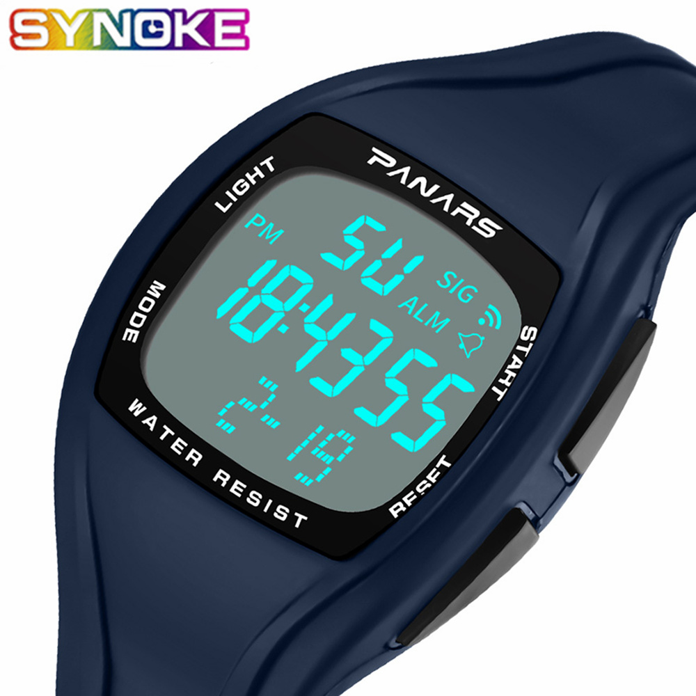 SYNOKE Digital Watch relogio masculino Men WristWatch Date Waterproof Chronograph Running Male Clocks Montres Sport WatchesSYNOKE Digital Watch relogio masculino Men WristWatch Date Waterproof Chronograph Running Male Clocks Montres Sport Watches