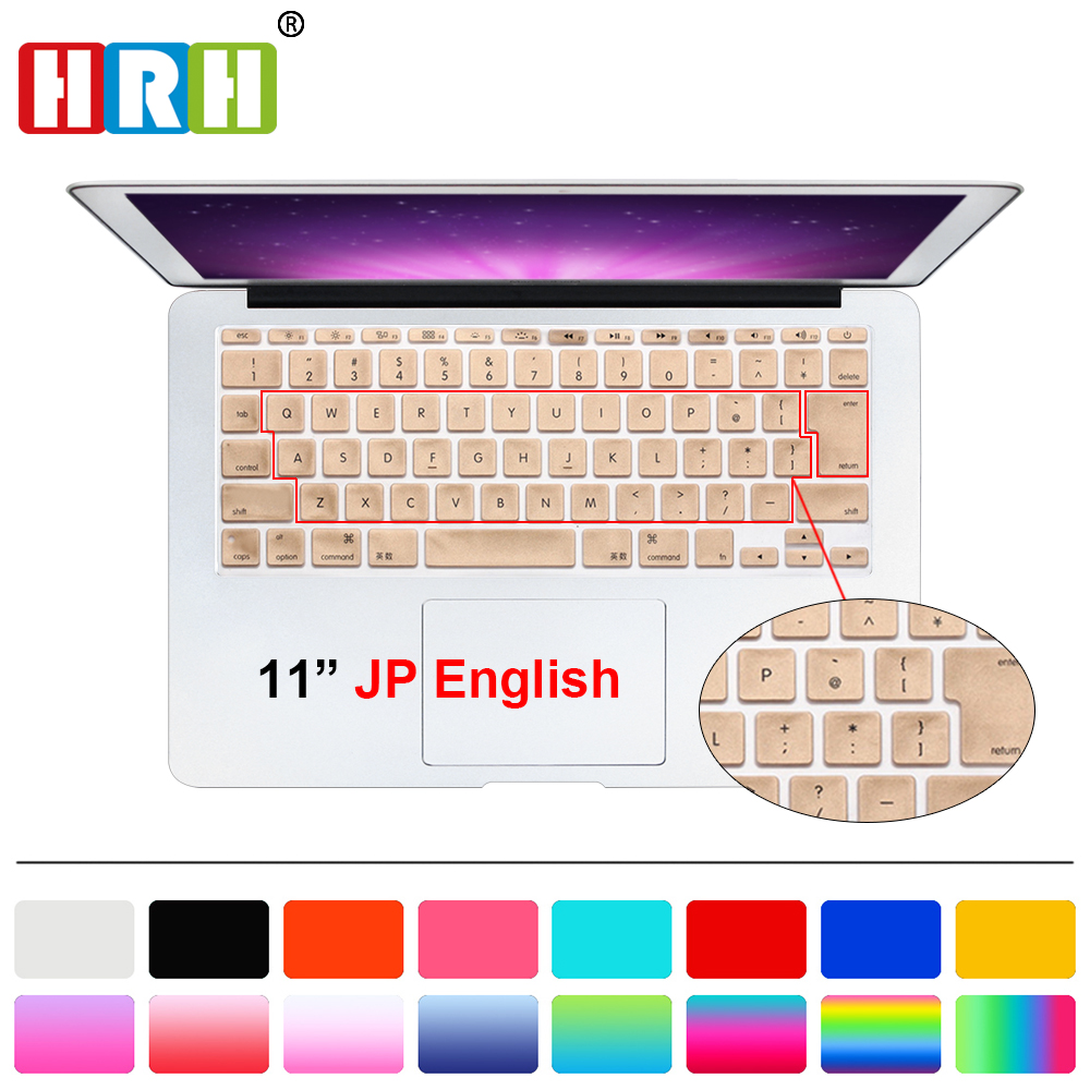 HRH Durable Ultra Thin Silicone English Keyboard Cover