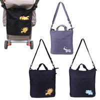 Baby Stroller Organizer Large Accessories Big Capacity Cartoon Waterproof Baby Carriage Bag For Prams Stroller Accessorie