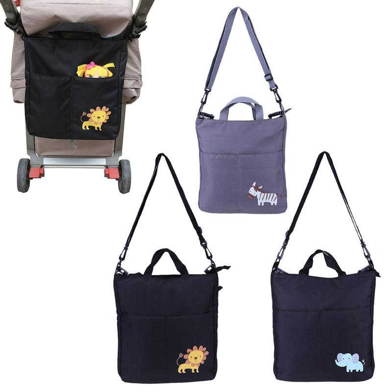 Baby Carriage Bag Baby Stroller Organizer Large Accessories Big Capacity Cartoon Waterproof For Prams Stroller Accessorie&Props