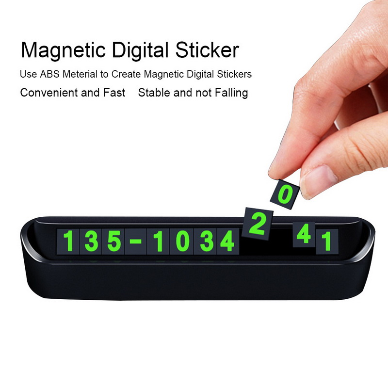 Image 4 - Car Styling Telephone Number Parking Card For Renault Duster Laguna Megane 2 3 Logan Captur Clio For Lada Granta Kalina Priora-in Car Tax Disc Holders from Automobiles & Motorcycles