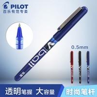 5PCS Japan PILOT Gel Pen BL VB5 V Ball 0.5mm Straight Liquid Gel Pen Kawaii Stationary