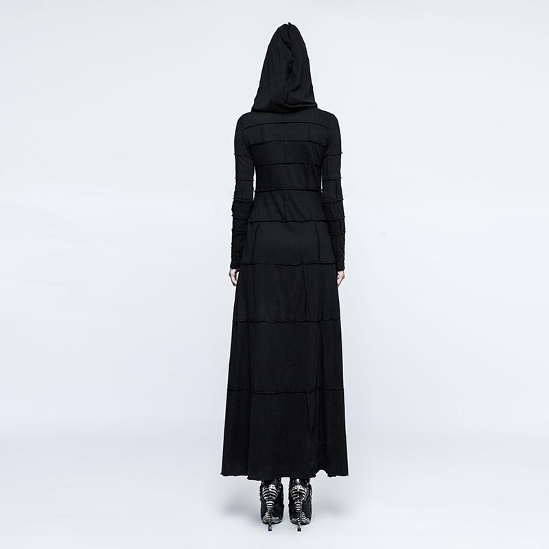 Elbise WomenPunk Uzun Hoodie 4
