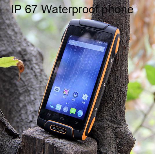 Desbloqueado Original Oinom LMV11 teléfono Resistente a prueba de agua teléfono de Cuádruple Núcleo de Android 4.4 Teléfono 1G RAM 13MP LMV9 LMV10 S6 M8 A9 Zug 5S