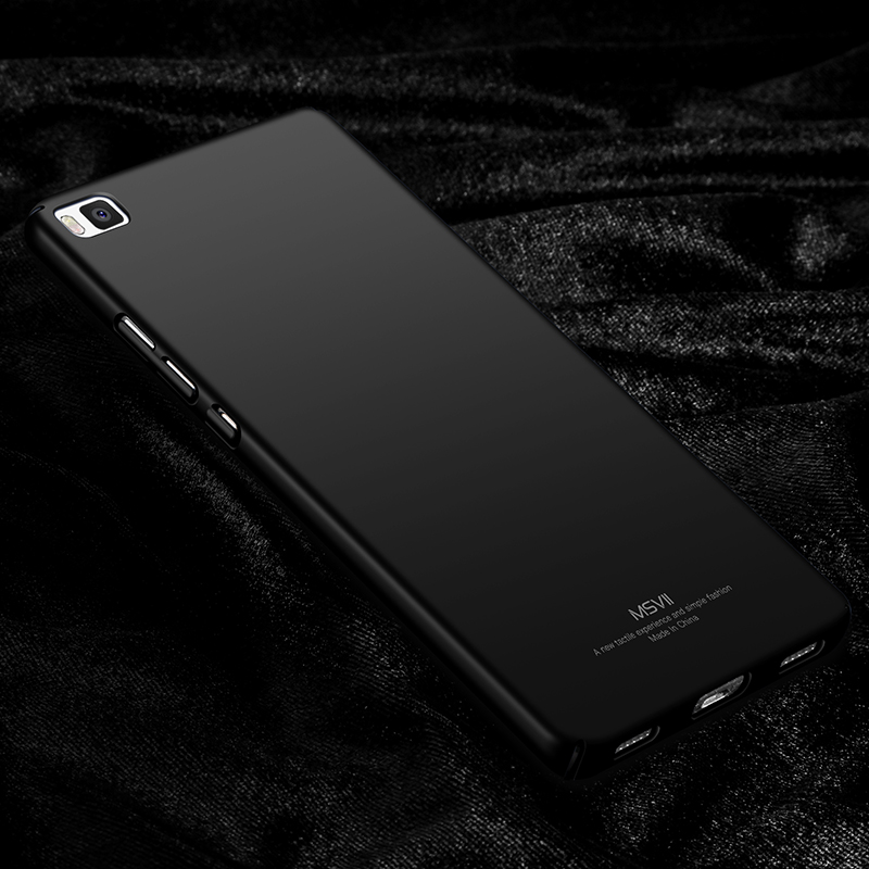 cheap for discount c275a 661d5 Huawei P8 Case Huawei P8 Cover MSVII Super Slim Smooth & Matte Hard Back  Cover Mobile Phone Cases For Huawei Ascend P8