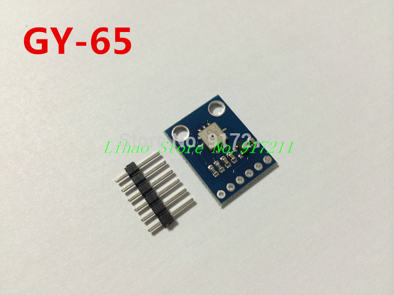 Free Shipping 5pcs/lot GY-65 Atmospheric pressure module altimeter module BMP085 module for arduino