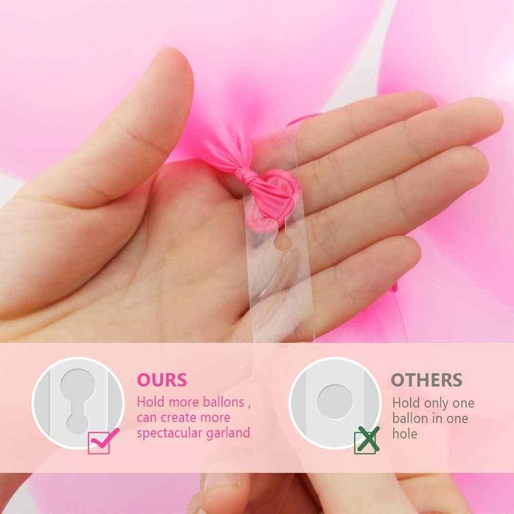Heronsbill пластиковые воздушные шары цепь свадьба день рождения украшения Дети взрослый декоративный воздушный шар клип шар в форме арки аксессуары