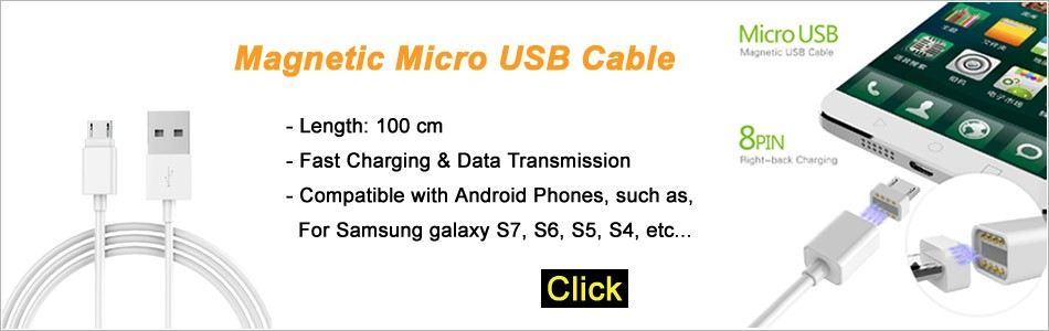 Megnetic USB Cable