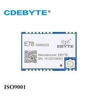 ASR6501 SoC LoRa 22dBm беспроводной приемопередатчик E78-400M22S SPI SMD IPEX штамп отверстие Разъем RF передатчик и приемник