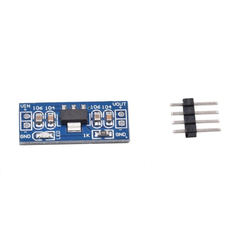 50 Pcs AMS1117 5V (6-12V) Turn To 5V Power Supply Module AMS1117-5.0 For Arduino