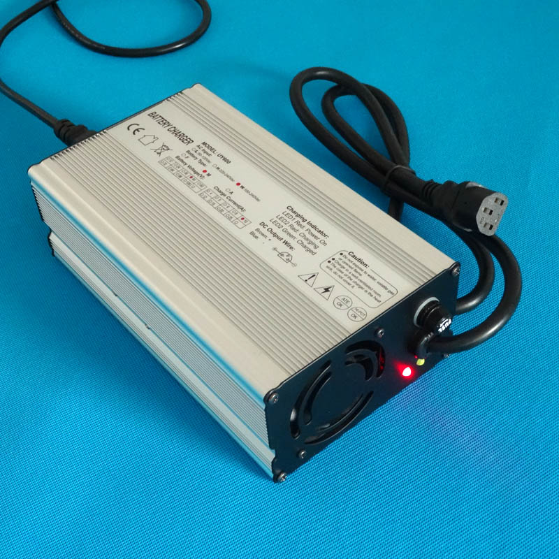 48V10A LiFePo4 battery charger Output 58 4V 10A For 16S 48V 20 50Ah liFePO4 battery charging