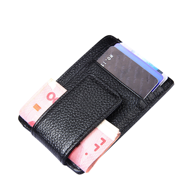 Fashion RFID Genuine Cow Leather Men Wallet Pocket Brand Trifold Design Women Men Purse High Quality Male Card ID Holder Bag