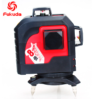 Fukuda 12 Lines Laser Level 3D Green Nivel Laser Construction Tools