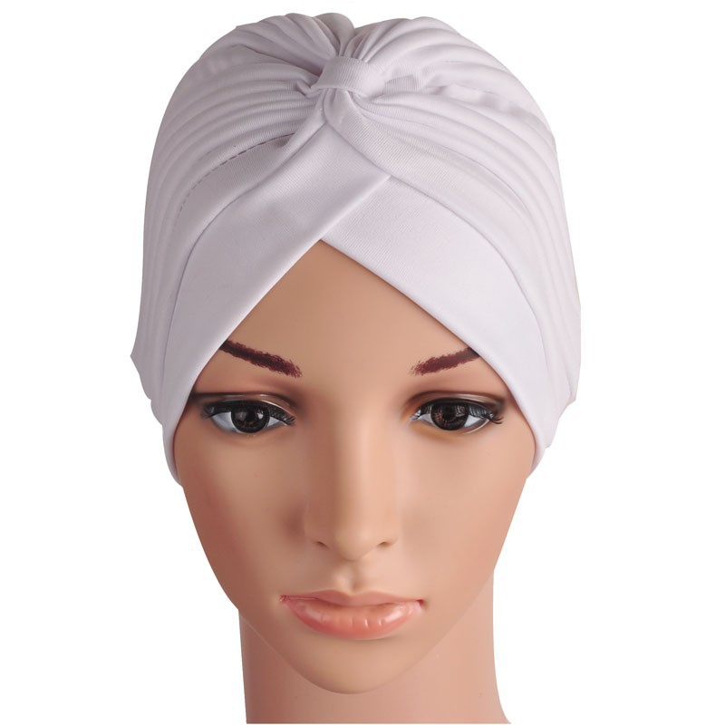 LNRRABC New Women Solid Color Stretchy Head Wrap Retro Hijab Muslim Turban India Caps Bandanas Girls Beanie Female Clothing 2017 new fashionable cute soft black grey pink beige solid color rabbit ears bow knot turban hat hijab caps women gifts