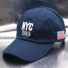 SUOGRY 2018 Top Quality Cotton NYC 1985 Baseball Cap Gorra Trucker Golf Hats Men Women Caps USA American flag Snapback