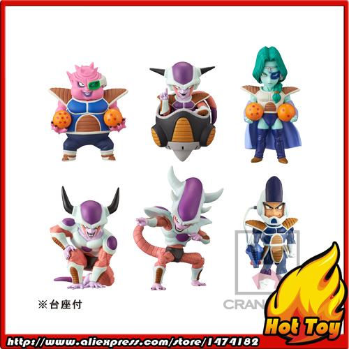 100% Original Banpresto WCF Complete Collection Figure FREEZA SPECIAL Vol.1 - Full Set of 6 Pieces from Dragon Ball SUPER original banpresto world collectable figure wcf the historical characters vol 3 full set of 6 pieces from dragon ball z