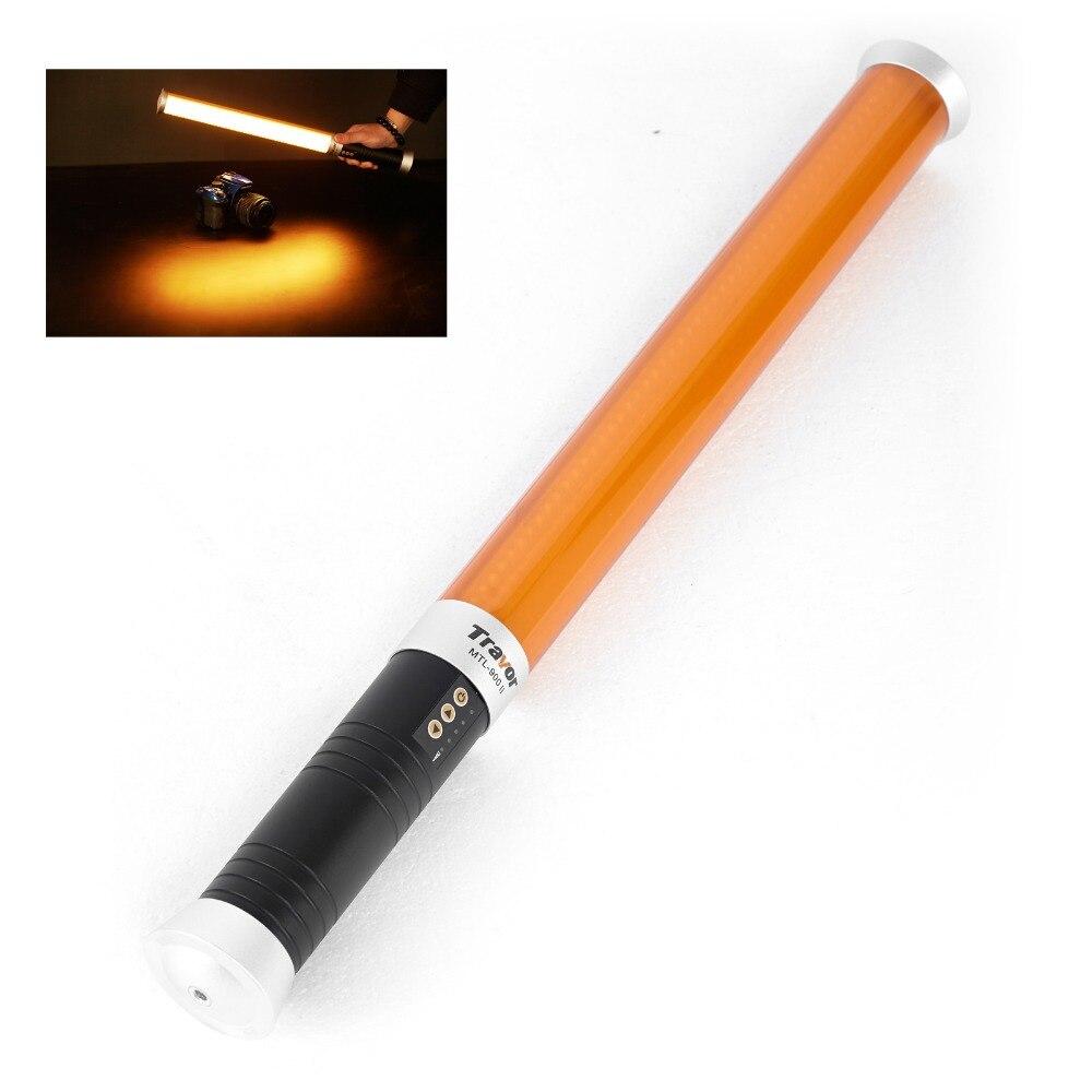 Meking Double couleur température poignée canne LED bâton de photographie 160 pièces lumière LED pour DSLR caméra photographie