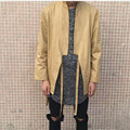 Top designer hip hop trend rock kanye west men streetwear swag skateboard Cotton Kimono Shirt Cardigan tyga hba clothes