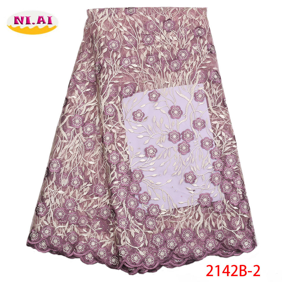 Union Color 2018 New Style French Net Lace Fabric Nigerian