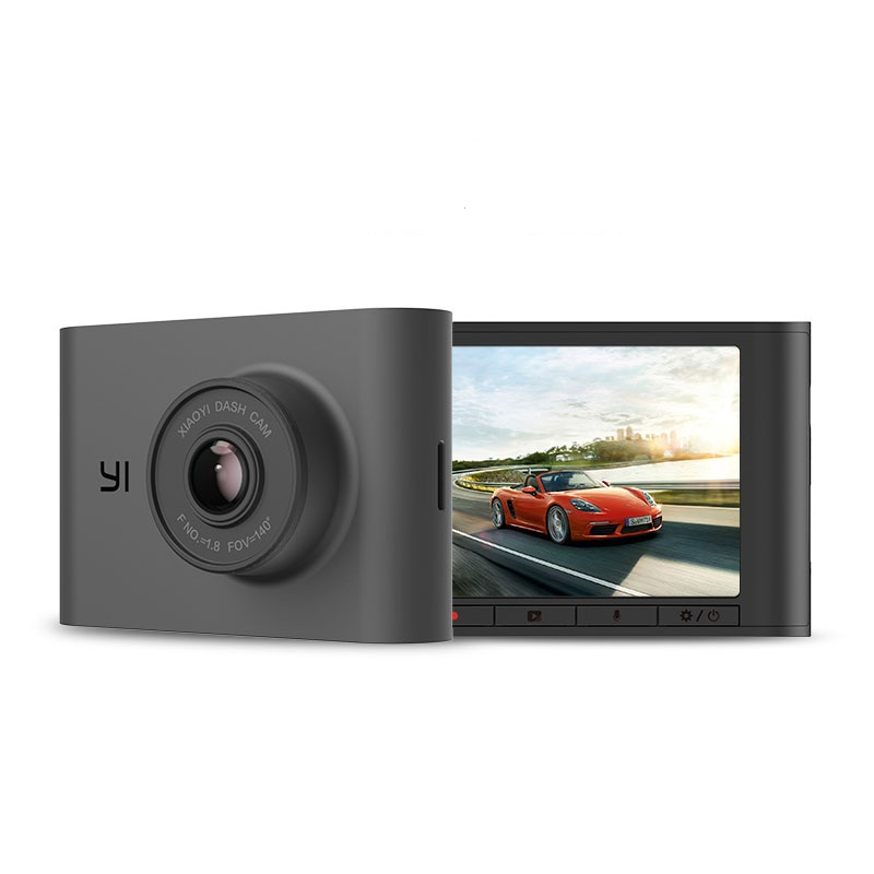 "Image 2 - YI Nightscape Dash Cam 1080p Smart Wi Fi Car Camera with Heat Resistant Super capacitor Night Vision 140° FOV 2.4""Screen Black-in DVR/Dash Camera from Automobiles & Motorcycles"