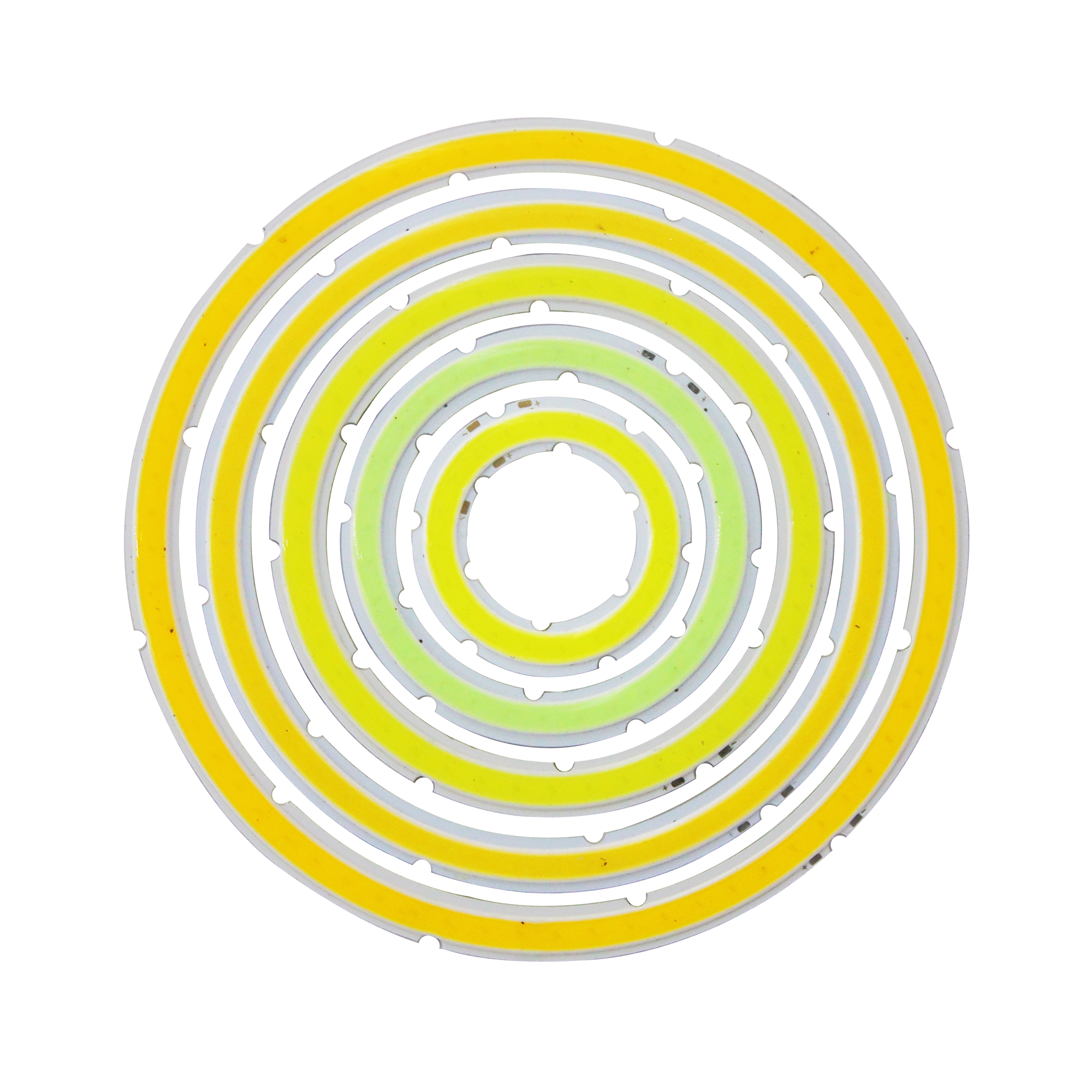<font><b>12V</b></font> DC annular cob <font><b>led</b></font> light source ring shape 10W 15w angle eye 30mm 120mm Warm cold white Ice blue cob chip for DIY lamp image