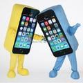Material de eva al por mayor de alta calidad iphone traje de la mascota del teléfono móvil de la mascota del traje de la mascota envío gratis