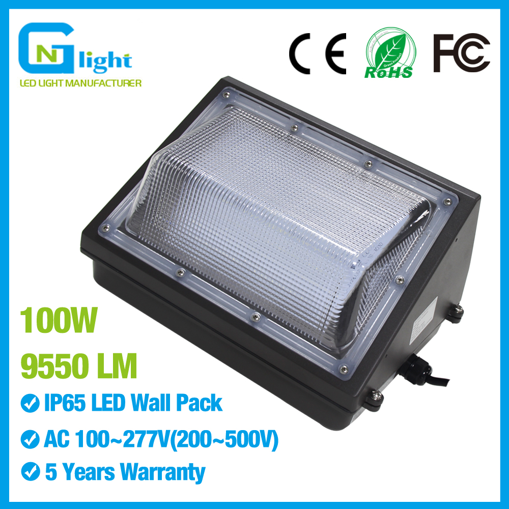 400 Watt Led Wall Pack Lights: 100Watt LED Wall Pack Light 350 400W HPS MH Bulb